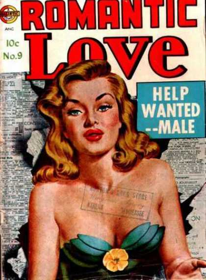 Romantic Love 9 - No 9 - Classic - Hot Women - She Wants Help From A Man - Collectible