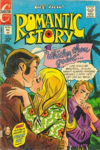 Romantic Story 124 - Charlton - Thought Bubble - Blonde - Whither Thou Goest - December