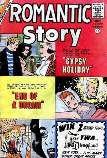 Romantic Story 51 - Gypsy Holiday - Window - Pillow - Dream - Disneyland