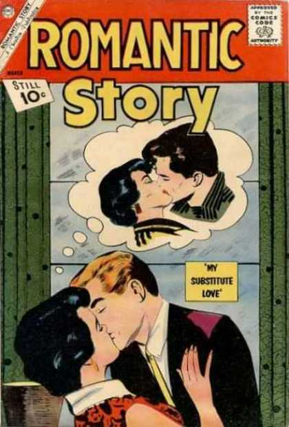 Romantic Story 59 - Women - Men - Kiss - My Substitute Love
