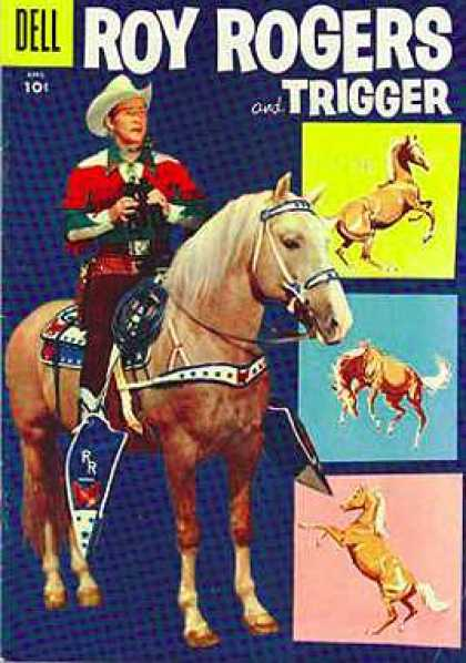 Roy Rogers Comics 100 - Horse Hero - Cow Boy Hero - Powerfull Hero - Zero To Hero - Lonly Horse