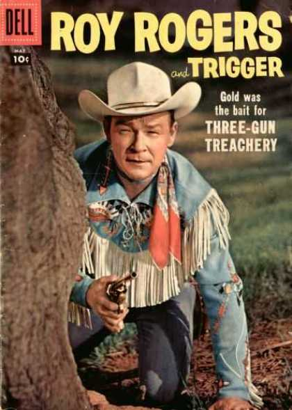 Roy Rogers Comics 113 - Gold - Three Gun - Treachery - Trigger - Bait