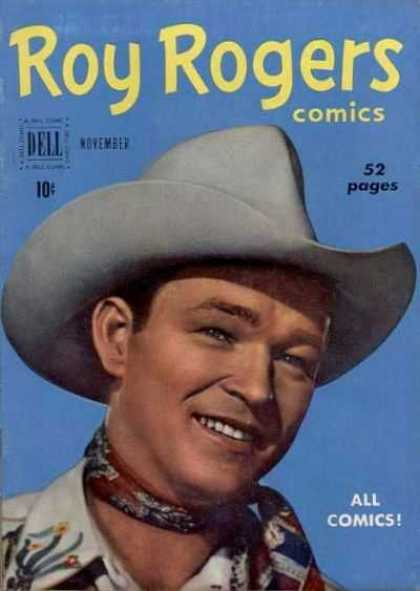 Roy Rogers Comics 35 - Roy Rogers - 52 Pages - Cowboy Hat - 10 Cents - November