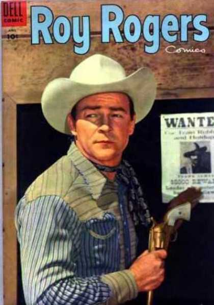 Roy Rogers Comics 88 - Cowboy - Entertainment - Old West - Wanted - Wild West