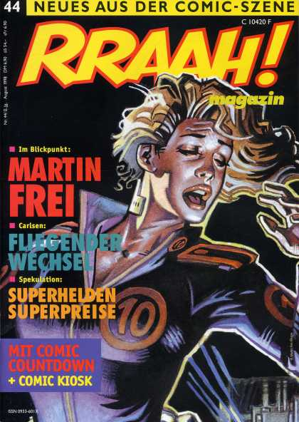 Rraah 43 - Entertainment - Magazine - Woman - Frightened - Comic