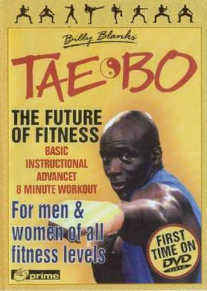 Russian DVDs - Tae Bo