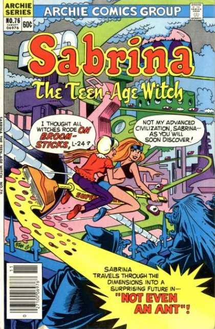 Sabrina the Teen-Age Witch 76 - Stan Goldberg