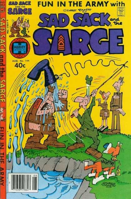 Sad Sack and the Sarge 144 - Sad - Water - Sack - Sarge - Prank