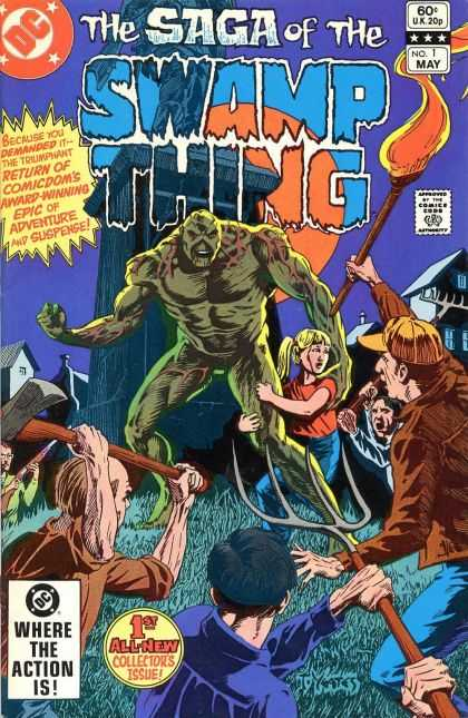 Saga of the Swamp Thing 1 - Thomas Yeates
