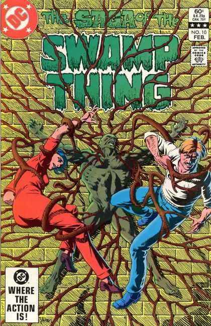 Saga of the Swamp Thing 10 - Thomas Yeates