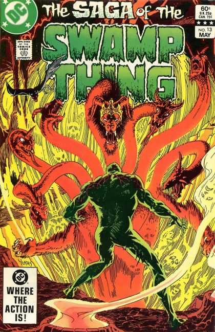 Saga of the Swamp Thing 13 - Thomas Yeates