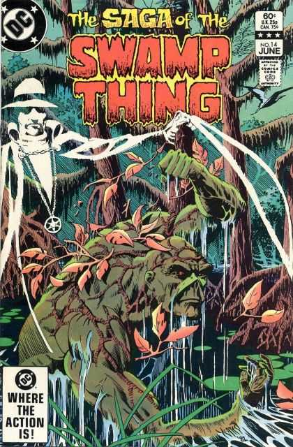 Saga of the Swamp Thing 14 - Thomas Yeates