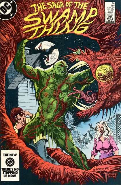 Saga of the Swamp Thing 26 - John Totleben