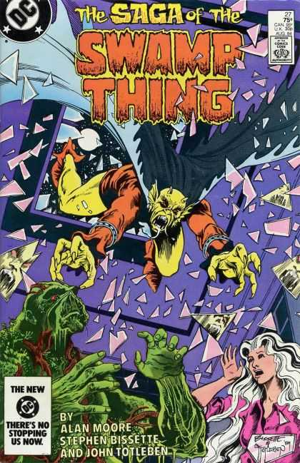 Saga of the Swamp Thing 27 - John Totleben
