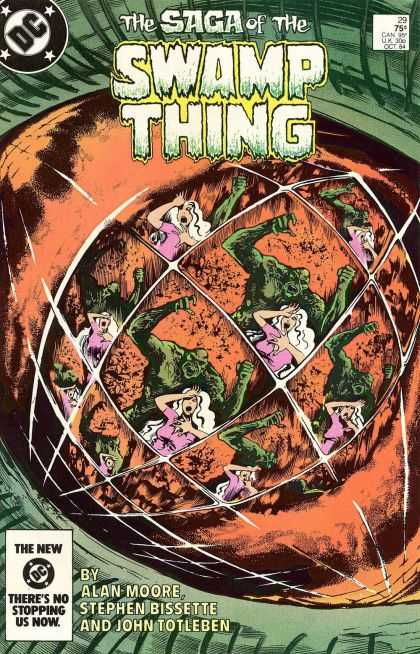 Saga of the Swamp Thing 29 - John Totleben