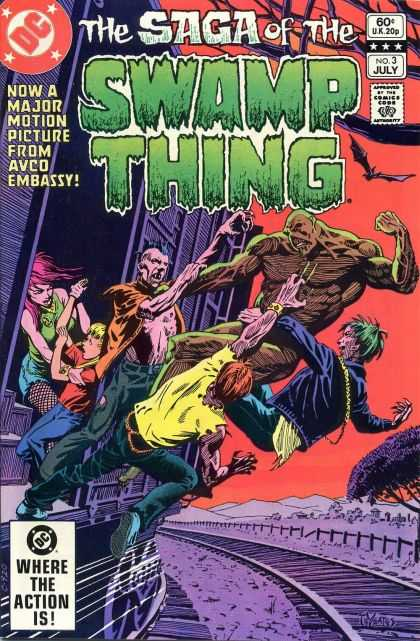 Saga of the Swamp Thing 3 - Thomas Yeates