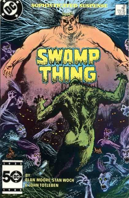 Saga of the Swamp Thing 38 - John Totleben