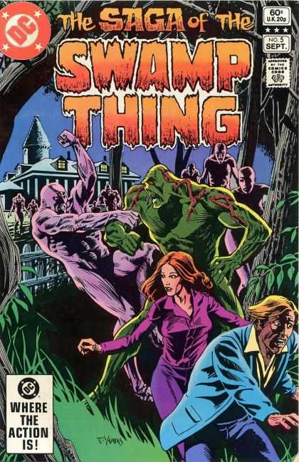 Saga of the Swamp Thing 5 - Thomas Yeates