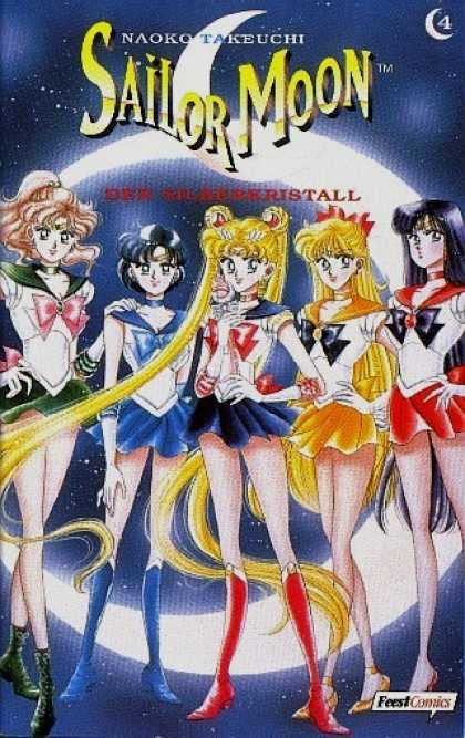 Sailor Moon 4 - Naoko Takeuchi - Girls - Short Skirts - Long Blonde Hair - Anime