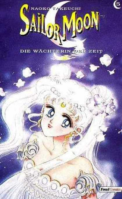 Sailor Moon 5 - Naoko Takeuchi - Moon - Woman - Clauds - Feres Comics