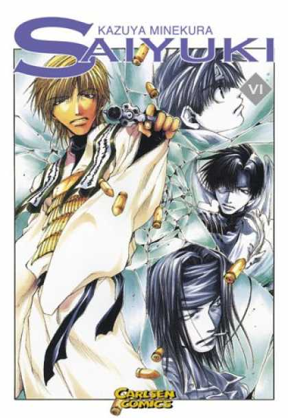 Saiyuki 6 - Blown Away - Another Round - Breaking Glass - Angels Of Death - Bust A Cap