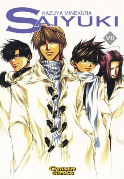 Saiyuki 7 - Anime - Lost Boys - Weird Jacket - Asian Emo - White Clothes