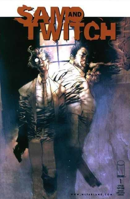 Sam and Twitch 1 - Sam And Twitch - Wwwmcfarlanecom - Sam - Twitch - Mcfarlane Comics - Ashley Wood
