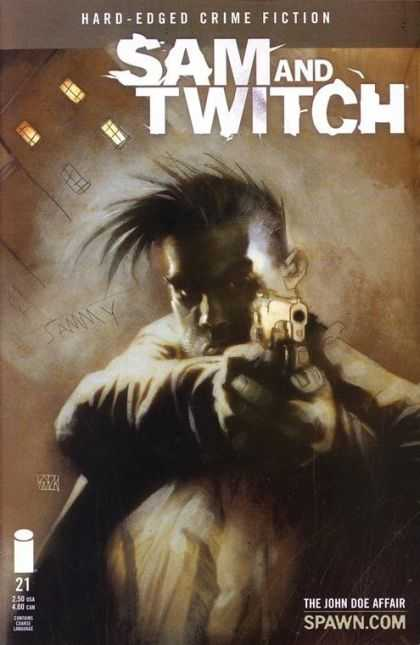 Sam and Twitch 21 - Hard Edged Crime Fiction - Jammy - Gun - City Lights - The John Doe Affair - Ashley Wood