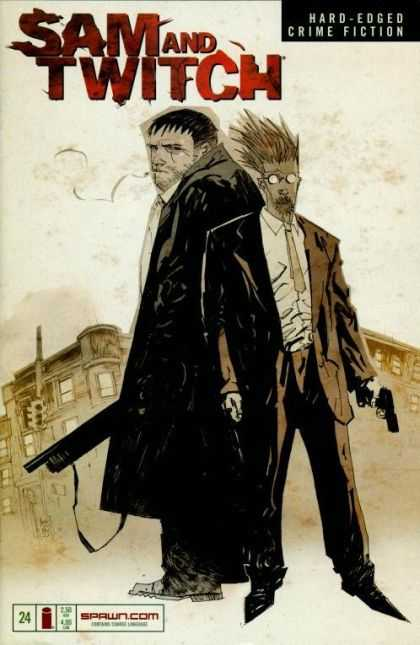 Sam and Twitch 24 - Hard - Edged - Crime Fiction - Spectacle - Gun - Ashley Wood