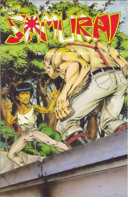 Samurai 18 - Man - Tree - Aircel - Fighting - Two In A Six Part Series