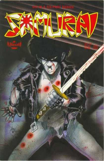 Samurai 22 - Superhuman - Sword - Blood - Masked - Angry