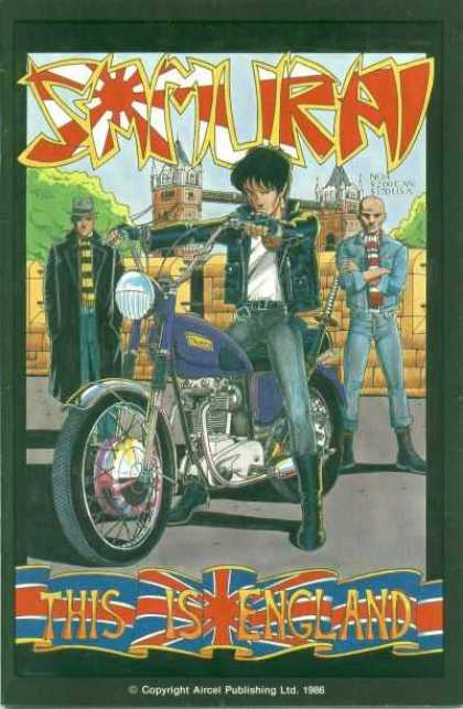 Samurai 4 - This Is England - Bike - Jeans - Bridge - Guards