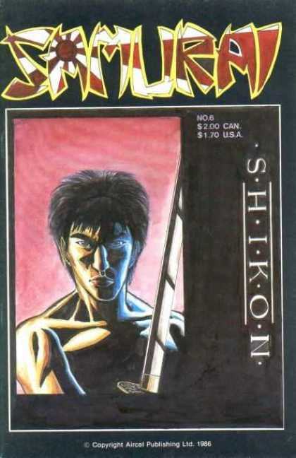 Samurai 6 - Rising Sun - Shikon - Sword - Aircal - Shirtless