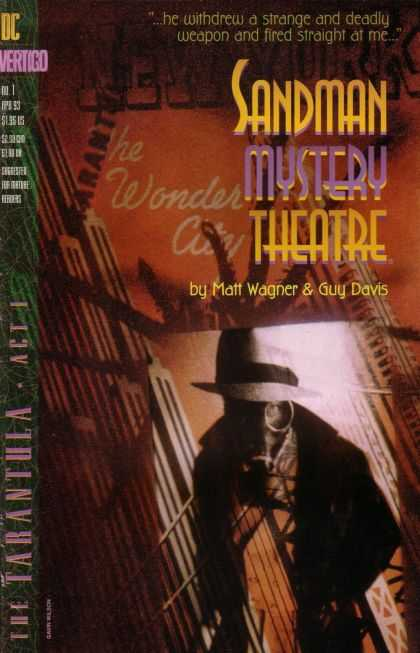 Sandman Mystery Theatre 1 - New York - Gas Mask - The Tarantula - Matt Wagner - Guy Davis