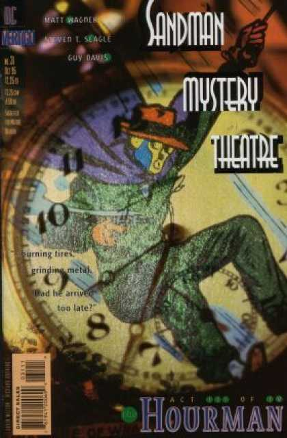 Sandman Mystery Theatre 31 - Vertigo - Watches - Superhuman - Burning Tires - Had He Arrived Too Late