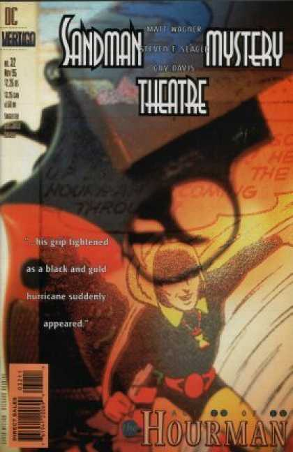 Sandman Mystery Theatre 32 - Hourman - Gun - Superhero - Grip Tightened - Matt Wagner