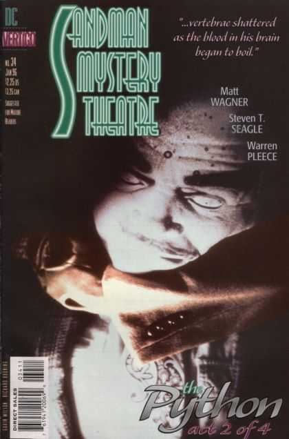 Sandman Mystery Theatre 34 - Sandman Mystery Theater - Neil Gaiman - Vertigo Comics - Matt Wagner - The Python Part 2 Of 4