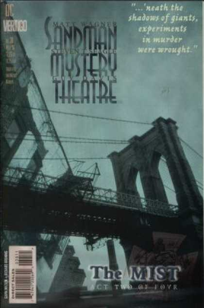 Sandman Mystery Theatre 38 - The Mist Act Two Of Four - Shadows - Experiments - Murder - Bridge