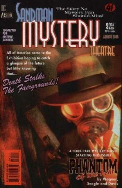 Sandman Mystery Theatre 41 - Merico - Death Stalks - The Fairgriunds - The Story No Mystery Fan Should Miss - Mask