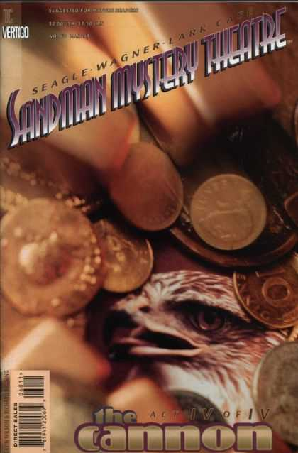 Sandman Mystery Theatre 60 - German Coins - Pfennig - Eagle - Photo Realistic - The Cannon