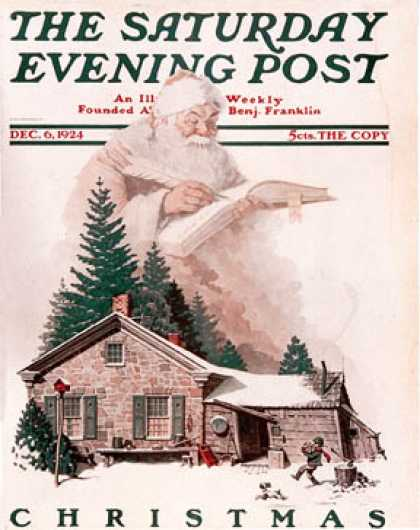 Saturday Evening Post - 1924-12-06 (Norman Rockwell)