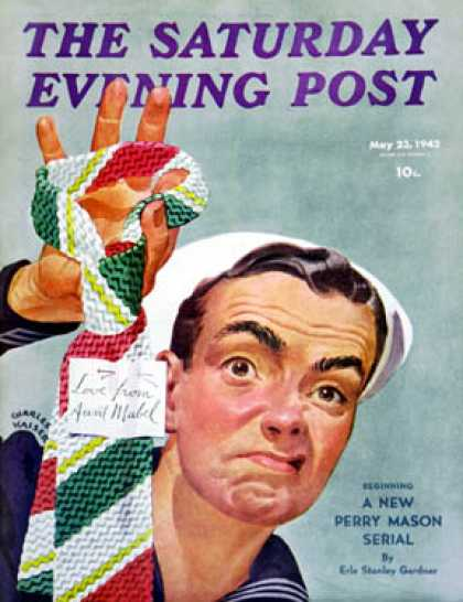 Saturday Evening Post - 1942-05-23: Ugly Tie (Charles Kaiser)