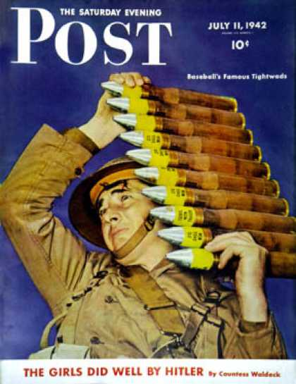 Saturday Evening Post - 1942-07-11: Ammo (Rudy Arnold)