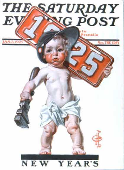 Saturday Evening Post - 1925-01-03