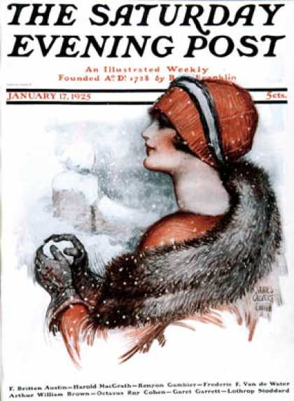 Saturday Evening Post - 1925-01-17