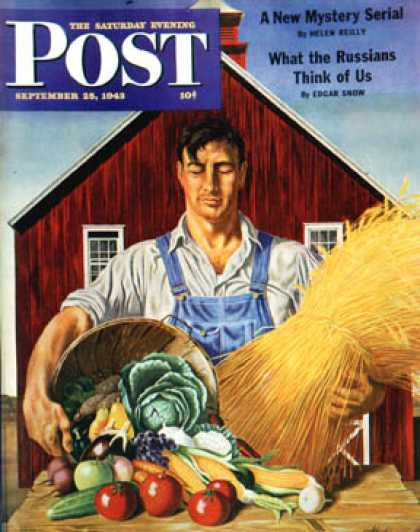 Saturday Evening Post - 1943-09-25: Fall Bounty (John Atherton)