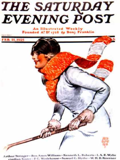 Saturday Evening Post - 1925-02-21
