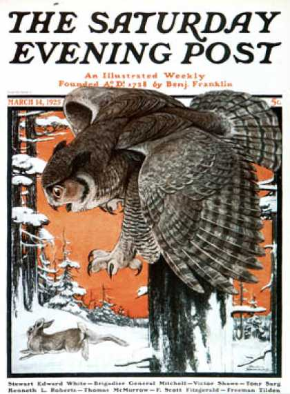 Saturday Evening Post - 1925-03-14