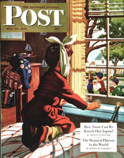 Saturday Evening Post - 1944-05-20: Mumps (Stan Ekman)