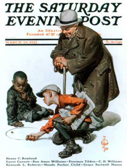 Saturday Evening Post - 1925-03-28